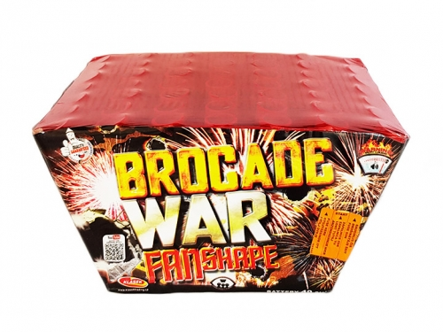 Brocade war  49 rán / 25mm – fan shape